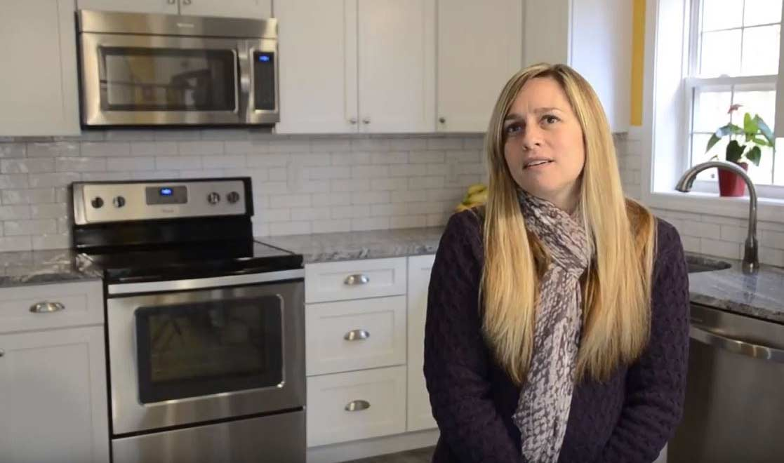 Franca tells her remodeling testimonial - click to listen to video