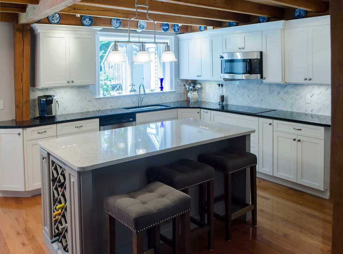 contemporary-kitchen-island-wine